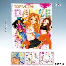 Album De Coloriage Top Model Make Up Studio 12939