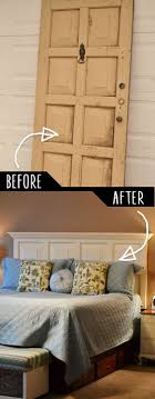 Ideas : Cozy Barn Door Headboard Ideas Image Of Old Door Old Door ... Headboard Headboard Made From Door Bedroom Barn For Sale Brown Our Vintage Home Love Master Makeover Reveal Elegant Diy King Size Excellent Plus Wood Wood Door Ideas Yakunainfo Old Barn Home Stuff Pinterest 15 Epic Diy Projects To Spruce Up Your Bed Crafts On Fire With Old This Night Stand Is A Perfect Fit One Beautiful Rustic Amazing Tutorial How Build A World Garden Farms Mike Adamick Do It Yourself Stories To Z Re Vamp Our New Room Neighborhood