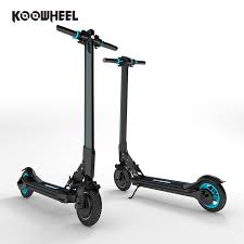 Koowheel Original Two Wheel Portable Foldable Electric Scooters For Adults With Led Light L8 NO