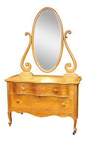 vintage birdseye maple vanity dresser by atlas furniture co