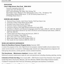 Resume Samples For Current College Students Beautiful Stock Example