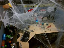 Halloween Cubicle Decorating Ideas by My Halloween Cubicle Lots Of Spider Web Slworking2 Flickr
