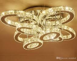 großhandel wohnzimmer licht rechteckige kreative atmosphäre oval led kristall le licht warm schlafzimmer le führte lichtkuppel llfa absorbieren