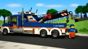 100 Lego City Tow Truck LEGO 60056 YouTube