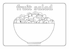 View Preview Oliver s Fruit Salad Colouring