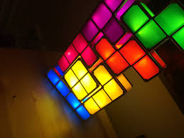 Tetris Stackable Led Desk Lamp Amazon by Tetris Light Lamp Youtube