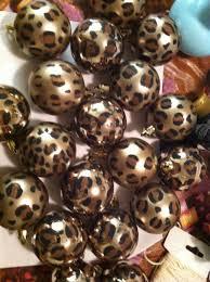 Animal Print Bathroom Sets Uk by Diy Cheetah Print Ornaments Have A Wild Christmas