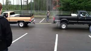 High School Kids Do Ford Truck Vs. Chevy Truck Tug Of War And Take ...