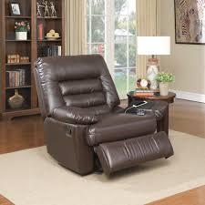 Serta Big & Tall Memory Foam Massage Recliner, Faux Leather ...