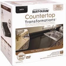 Rustoleum Garage Floor Coating Instructional Dvd by Rust Oleum Countertop Transformations Counter Top Coating