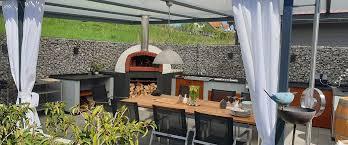 outdoor küche selber bauen und entspannt im freien kochen