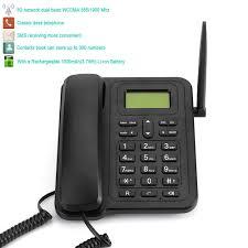 nous version 3g téléphone de bureau classique 2 4 bande
