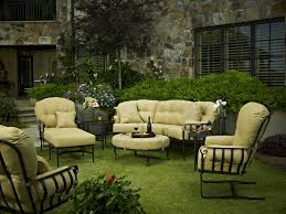 Meadowcraft Patio Furniture Cushions by Meadowcraft Athens Wrought Iron Crescent Sofa 3610000 01