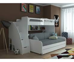 Mondo Twin Bunk Bed with Sofa Table and Trundle
