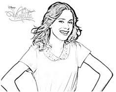 Find This Pin And More On Violetta Coloring Pages