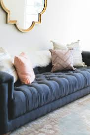 West Elm Bliss Sofa Craigslist by Best 25 Navy Couch Ideas On Pinterest Navy Sofa Blue Couches