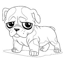 Wonderful Bulldog Coloring Pages Cool Inspiring Ideas
