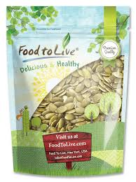 Sprouting Pumpkin Seeds by Buy Pumpkin Seeds From Foodtolive Com Free Shipping No Tax