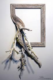 l arbre a cadre des vieux cadres qui retournent à l arbre contemporary sculpture