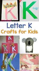 20 Letter K Crafts for preschool or Kindergarten