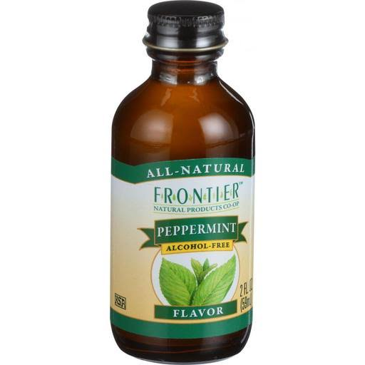 Frontier Natural Products Peppermint Flavor - 2 oz