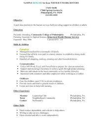 Caregiver Resume Samples