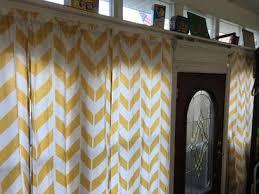 Walmart Mainstays Chevron Curtains by Yellow Chevron Curtains Interior Design