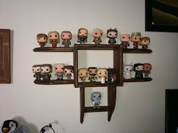 Timbos Creations Wall Display Shelf For Funko Pop Figures Image With Excellent Wood