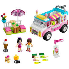 100 Toy Ice Cream Truck LEGO Juniors Friends Emmas Creative Kidstuff
