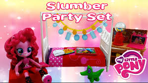 My Little Pony Bed Set by Pinkie Pie Slumber Party Bedroom Set My Little Pony Equestria