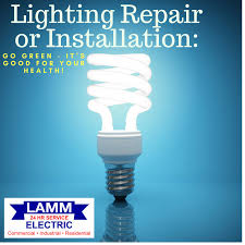 lighting repair or installation go green it s for your