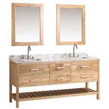 Double Sink Vanity Top by Design Element London 72 In W X 22 In D Double Vanity In Oak