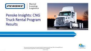100 Work Truck Rental Penske Insights CNG Program Results On Vimeo