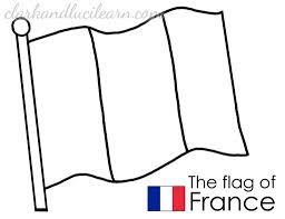 France Archives Clark And Luci Learn In French Flag Coloring Page With Regard To Inspire