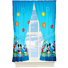 mickey mouse dis mickey mouse kids bedroom curtains walmart com