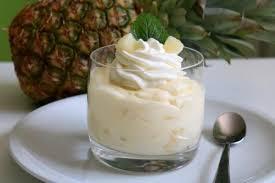 cremiger ananas pudding