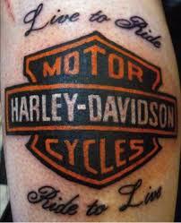 Biker Harley Davidson Tattoos