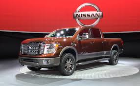 2015 NAIAS: 2016 Nissan Titan Gets 5.0L Turbo Diesel V8 - AutoNation ... Nissan Titan Xd Morries Brooklyn Park 2016 Review Notquite Hd Pickup Makes Cannonball Cummins Gets 177 Mpg Comb In Real Testing The New Truck Is Getting 2018 Sv Jacksonville Fl Warrior Concept Pictures Information Specs New Nissan Titan Features Cummins Power News Nissans 2017 Single Cab Will Start Under 300 Roadshow First Drive Autonxt 4wd Crew Sl Diesel Truck Castle Built For Sema