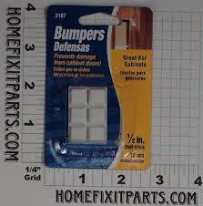 Drill In Cabinet Door Bumper Pads by Bumpers And Protectors