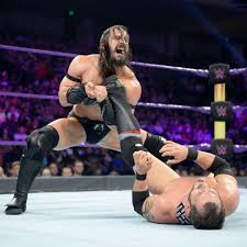 Photos WWE Champion AJ Styles Match Against Samoa Joe Ends In