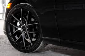 100 Black Rims For Trucks NICHE M130 TARGA Wheels With Machined Face And Double Dark