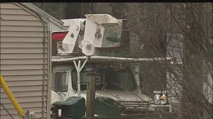 Tree Worker Dies After Falling From Bucket Truck In Leominster - YouTube