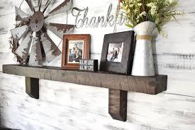 Mantel Shelf Corbel Fireplace Large Wooden