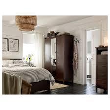 Brusali Bed Frame by Furniture Amusing Ikea Brusali Wardrobe Cool Aspelund Ikea Wardrobe