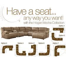 hogan mocha sect merrell s furniture 1