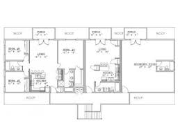 outbuilding plans 9 stall horse barn with living quarters 012b