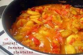cuisiner la banane plantain recette de rougail à la banane plantain la recette facile