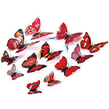 Ebay Wall Decoration Stickers by 3d Butterfly Wall Decor Roselawnlutheran