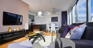 Bedroom Contemporary Luxury 1 Bedroom Apartments Nyc Pertaining To