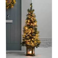 Artificial Layered Noble Fir Christmas Tree by Pre Lit White Christmas Tree Interior Interesting Design Classic